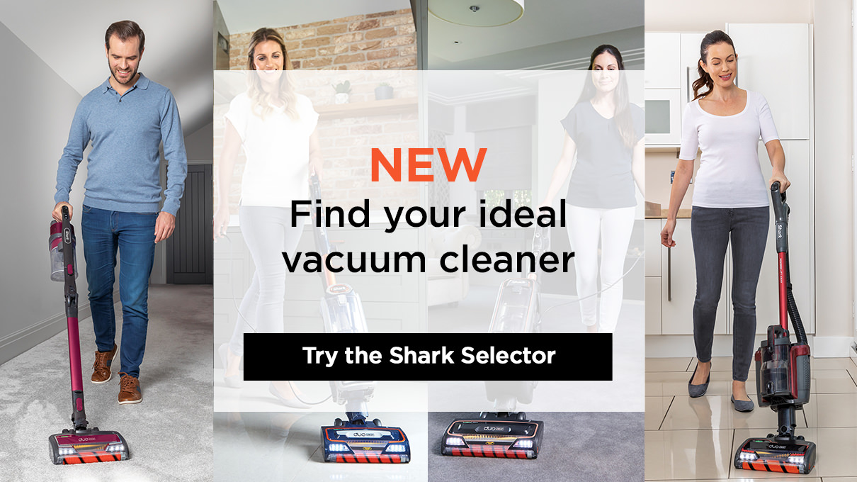 Find your perfect Shark vacuum cleaner